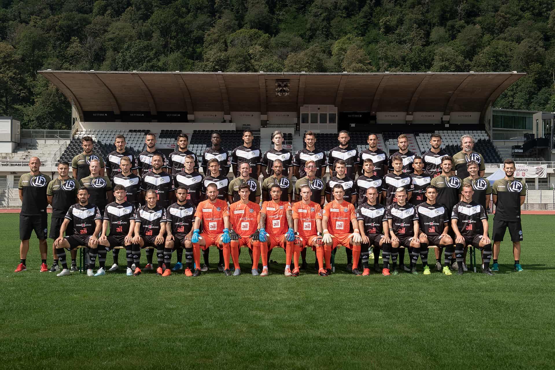 Prima squadra 2019-20 FC Lugano