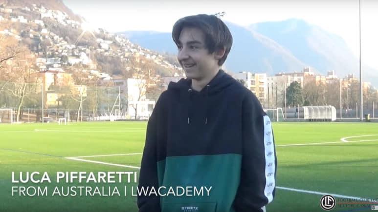 """Ben 13mila km per la Lugano World Academy: Luca torna in Australia """"più calciatore"""" di prima"""